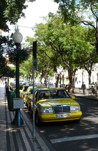 taxis a funchal