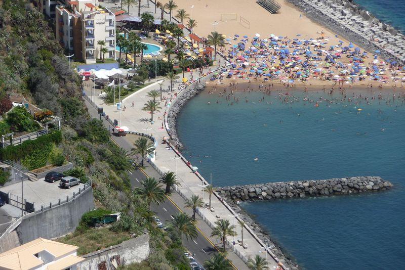 plage de calheta Madeira
