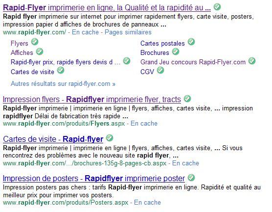 Google Affiche 4 Resultats Sur Le Domaine Rapid Flyer Et Il Pourrait Y En Avoir Bien Plus Si La Personne Charge Du Referencement Souhaitait