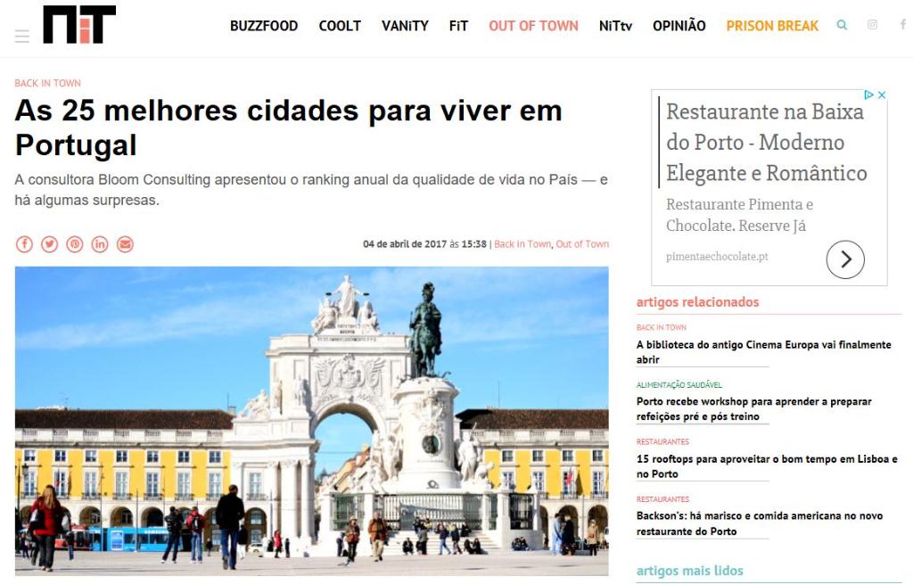 Les 25 Meilleurs Villes Pour Vivre Au Portugal