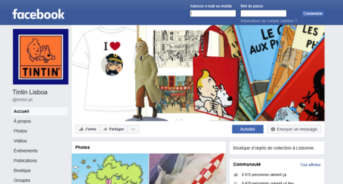 Tintin shop