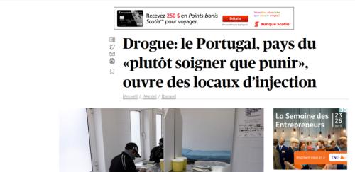 Drogue portugal