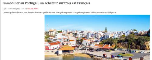 Immobilioer au portugal